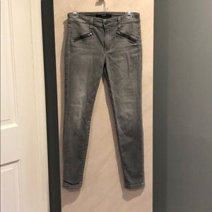 Joe's Skinny Ankle Gray Jeans